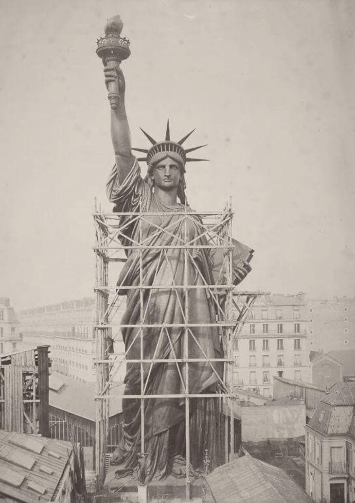 17 जून 1885 को फ्रांस से न्यूयॉर्क पहुंची थी स्टेच्यू ऑफ लिबर्टी
