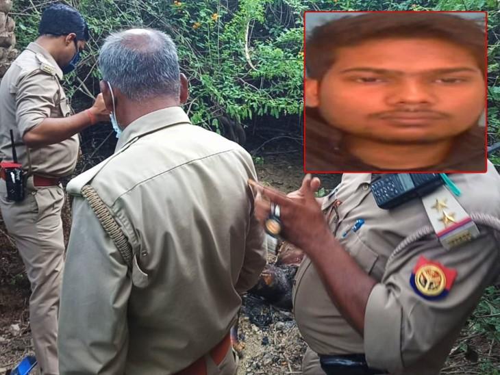 पशु चिकित्सक के बेटे ने पेट्रोल उड़ेलकर जंगल में किया आत्मदाह, तीन साल से मृतक नीट की तैयारी कर रहा था|प्रयागराज,Prayagraj - Dainik Bhaskar