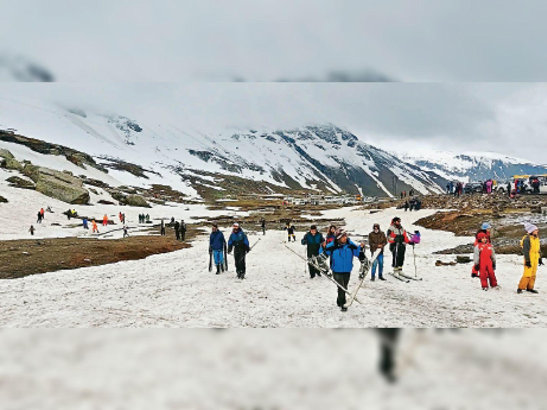 पांवटा में हुई रिकाॅर्ड 107 मिमी बारिश अगले 4 दिन भारी बारिश का येलाे अलर्ट|शिमला,Shimla - Dainik Bhaskar