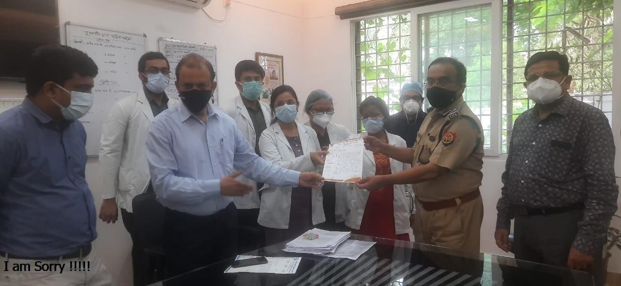 CMO के बाद अब पुलिस की जांच में भी डॉक्टरों को क्लीन चिट, प्राचार्य बोले- मेडिकल एक्टिविटी को युवती ने गलत समझा|प्रयागराज,Prayagraj - Dainik Bhaskar