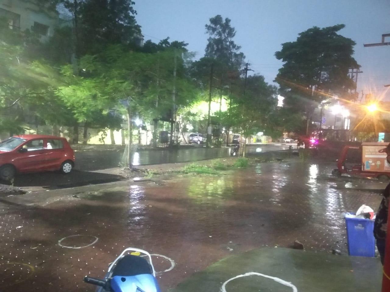 राजधानी समेत प्रदेश के सभी हिस्सो में बारिश की संभावना, सतना में 77.2 MM बारिश दर्ज|भोपाल,Bhopal - Dainik Bhaskar