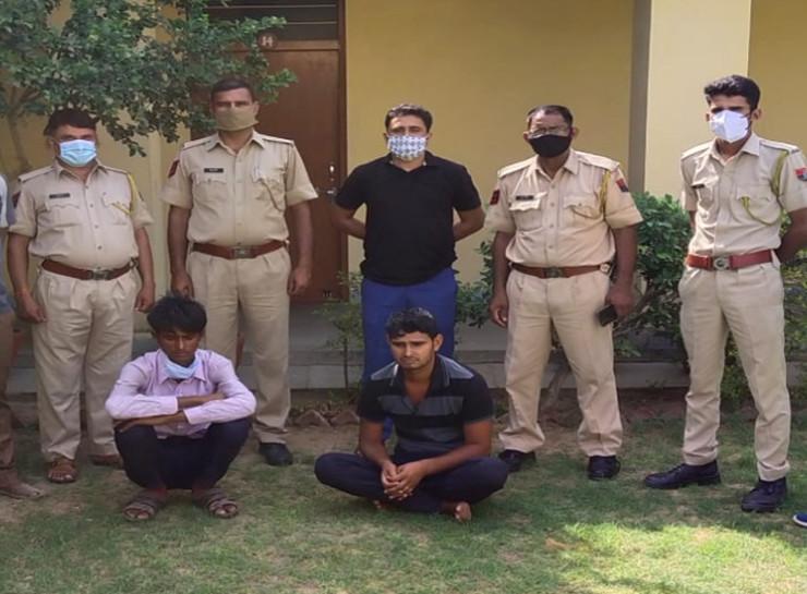 कछुआ बेचने के बहाने धन दुगना करने का लालच देकर हड़पे दो लाख रुपए, फिर मारपीट कर रकम छीनी, गिरोह के दो शातिर ठग गिरफ्तार|जयपुर,Jaipur - Dainik Bhaskar