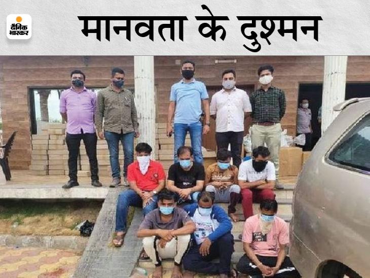 गुजरात की जेल में थे बंद; जबलपुर समेत पूरे प्रदेश में की थी नकली इंजेक्शन की सप्लाई, अब मोखा का खुलेगा काला चिट्ठा|जबलपुर,Jabalpur - Dainik Bhaskar