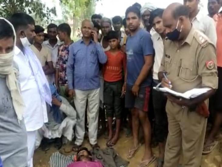 मुरादाबाद में खाना बनाने के लिए नहर पर लकड़ियां तोड़ते समय मजदूर चपेट में आया, ठेकेदार तुड़वा रहा था लकड़ियां, परिजनों ने किया हंगामा|मुरादाबाद,Moradabad - Dainik Bhaskar