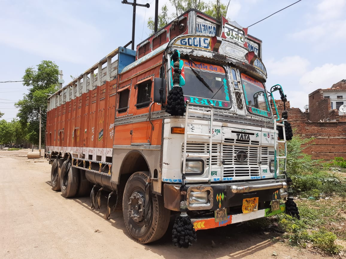 जीरापुर से मुरादाबाद के लिए भेजी 20 टन प्याज राजाखेड़ा में बेची, दो गिरफ्तार मुरैना,Morena - Dainik Bhaskar