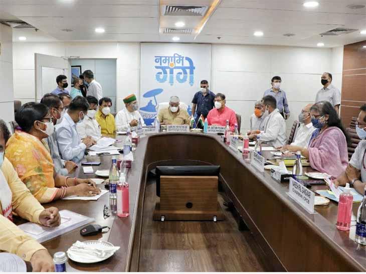 केंद्रीय जलशक्ति मंत्री से मिले राजस्थान भाजपा के नेता, भाखड़ा ब्यास प्रबंधन बोर्ड अपशिष्ट जल का प्रबंधन करने की बनाएगा योजना|जोधपुर,Jodhpur - Dainik Bhaskar