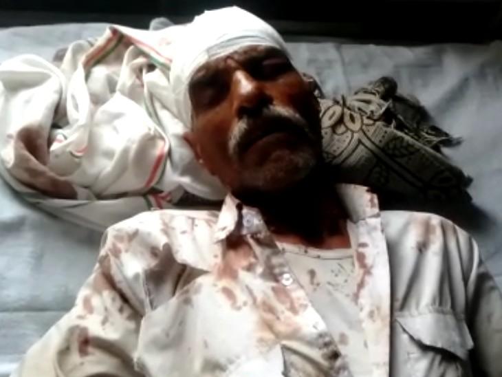 पत्नी को भगाने के शक में दो पक्षों में विवाद, एक-दूसरे पर लाठियों और सरियों से वार किया, 4 घायल|कोटा,Kota - Dainik Bhaskar