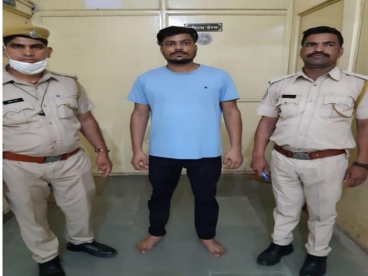 व्यापारी का अपहरण कर 50 लाख की फिरौती मांगी, रुपए नहीं देने पर इस्कॉन मंदिर के पास की थी फायरिंग|जयपुर,Jaipur - Dainik Bhaskar