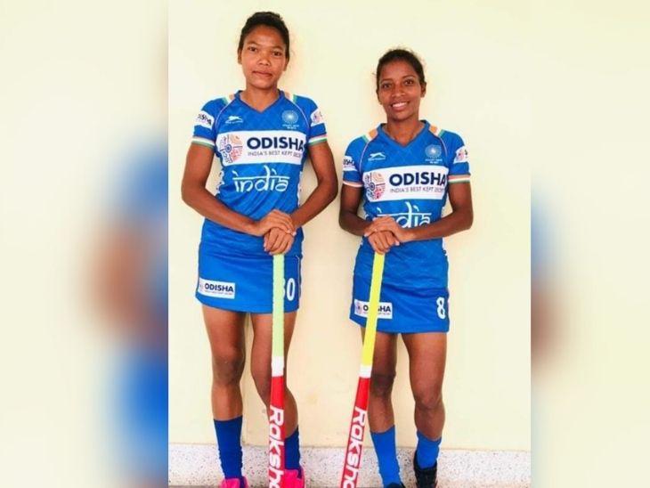 निकी प्रधान डिफेंडर तो सलीमा टेटे मिडफील्डर के रूप में ग्राउंड पर दिखाएगी अपनी प्रतिभा, दोनों इंडियन ओलंपिक महिला टीम में शामिल|रांची,Ranchi - Dainik Bhaskar