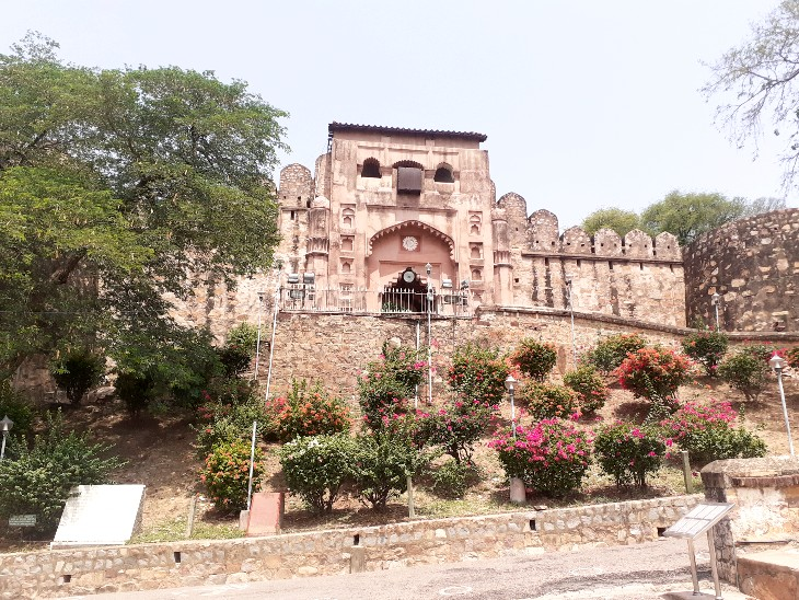 पहले दिन कम संख्या में पर्यटक पहुंचे, कोविड गाइडलाइन का पालन करते हुए प्रवेश दिया गया झांसी,Jhansi - Dainik Bhaskar