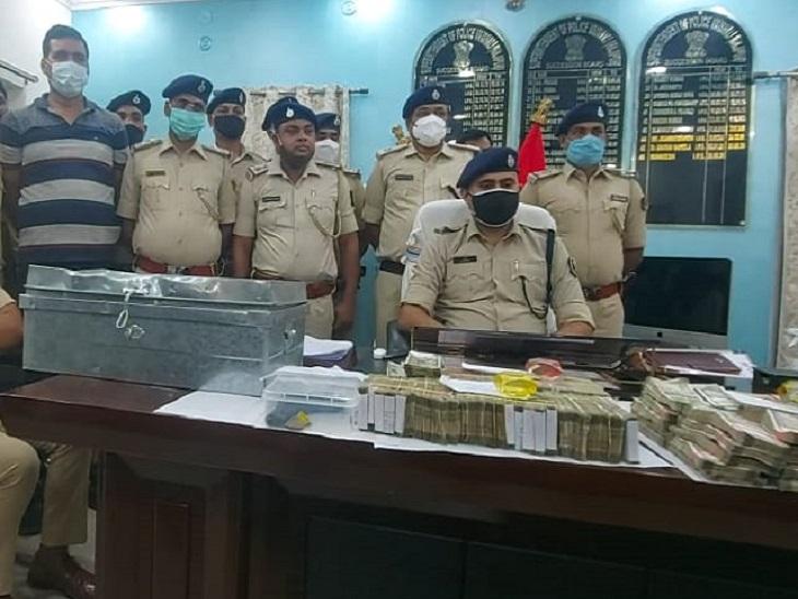 वैशाली पुलिस ने 1.19 करोड़ में से 88.67 लाख बरामद किए, 9 अरेस्ट; इनसे समस्तीपुर लूट का 4.5 लाख भी मिला वैशाली,Vaishali - Dainik Bhaskar