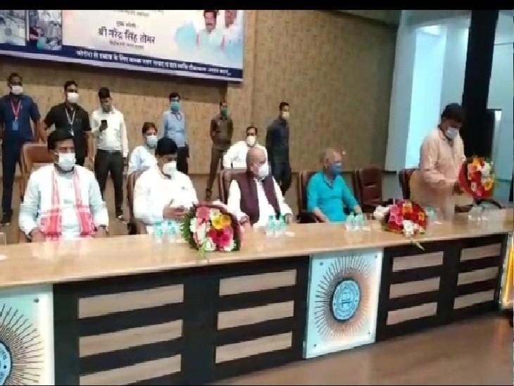 दिग्विजय सिंह का बयान भारत से कांग्रेस को मुक्त कराने वाला है, वो चाहकर भी 370 को बहाल नहीं करा पाएंगे|ग्वालियर,Gwalior - Dainik Bhaskar