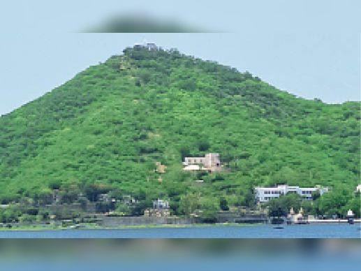रावलामंडी- 9 केडी गांव की पेयजल डिग्गी। - Dainik Bhaskar