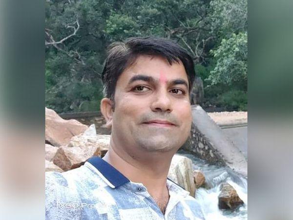 पीड़ित किशन सोनी। - Dainik Bhaskar