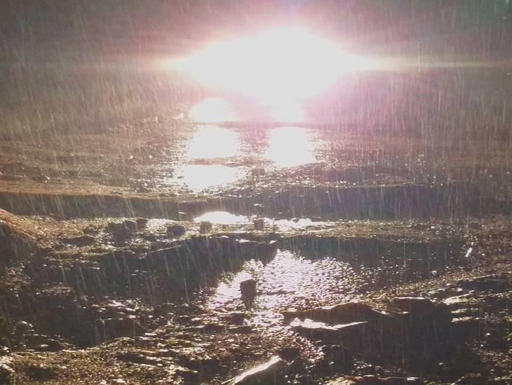 धरियावद में हुई मूसलाधार बारिश; वहीं उदयपुर में उमस ने किया शहरवासियों को परेशान|धरियावद,Dhariyavad - Dainik Bhaskar