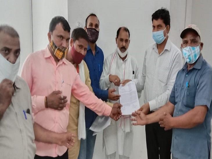 स्वास्थ्य को मौलिक अधिकारों में शामिल करवाने की मांग को लेकर सौंपा ज्ञापन|फरीदाबाद,Faridabad - Dainik Bhaskar