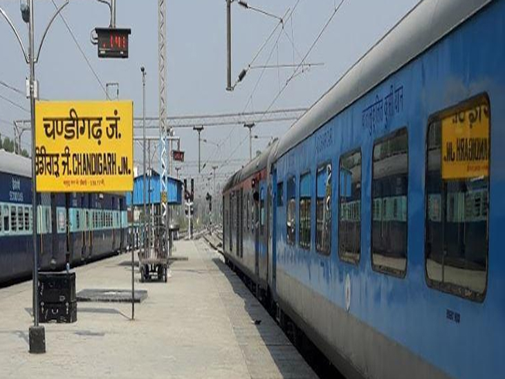 चंडीगढ़ रेलवे स्टेशन पर 9 दिन पहले गायब लड़की का अभी तक कोई पता नहीं,रेलवे पुलिस कर रही जांच।फाइल फोटो - Dainik Bhaskar