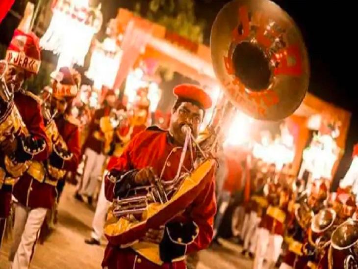 रात 10 बजे तक ही शादी-पार्टियों में बजेंगेधुमालऔर बैंड, सार्वजनिक रोड पर बजाने की अनुमति नहीं, पढ़िए क्या-क्या शर्तोंके साथ मिली है परमिशन|छत्तीसगढ़,Chhattisgarh - Dainik Bhaskar