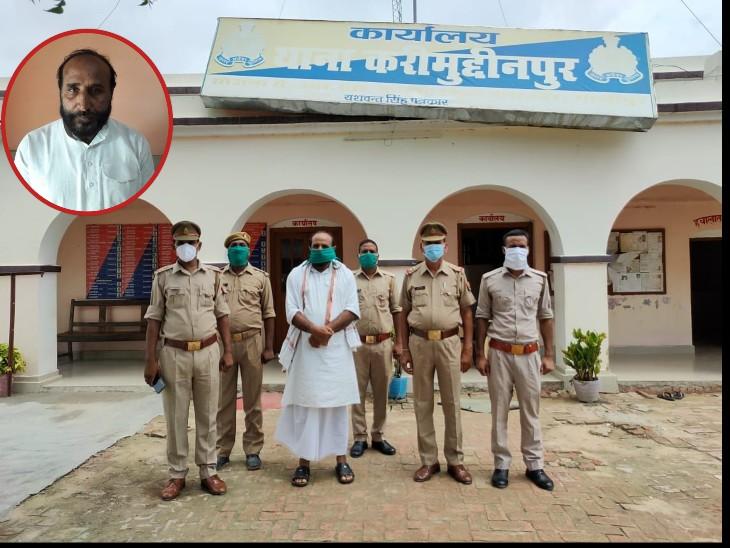 फर्जी एंबुलेंस मामले में पुलिस ने लखनऊ-गाजीपुर में एक साथ दी दबिश, आनंद यादव के बाद गाजीपुर से मुख्तार गैंग का एक और सदस्य नन्हे खां गिरफ्तार|लखनऊ,Lucknow - Dainik Bhaskar