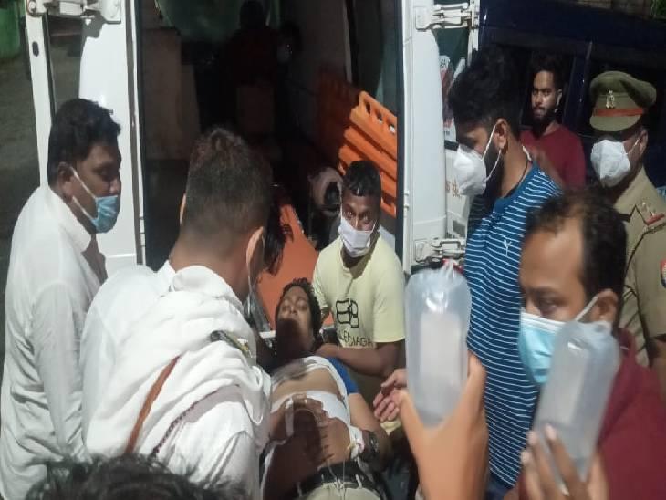 देवरिया में इलेक्ट्रॉनिक व्यापारी को अज्ञात हमलावरों ने मारी गोली। - Dainik Bhaskar