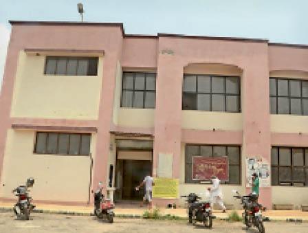 दादरी डीआईटीएस भवन। - Dainik Bhaskar