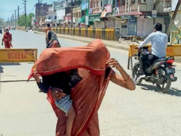 प्रदेश में सबसे गर्म मुरैना; पारा 40 पर पहुंचा, ग्वालियर में 39.5|ग्वालियर,Gwalior - Dainik Bhaskar