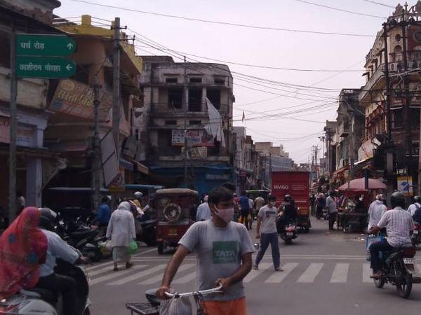 95 करोड़ रुपए की ग्राहकी वाला बाजार 35 करोड़ तक ही पहुंचा|जयपुर,Jaipur - Dainik Bhaskar