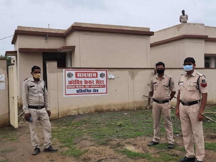 कोविड सेंटर से भागे 5 आरोपियों को पकड़ने गए थे 50 पुलिसकर्मी, 4 को कोरोना, बाकी का आज होगा टेस्ट|छत्तीसगढ़,Chhattisgarh - Dainik Bhaskar
