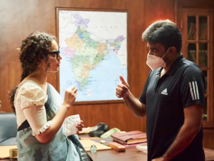 कंगना रनौट ने 'थलाइवी' के डायरेक्टर ए एल विजय को किया बर्थडे विश, लिखा- मेरे फेवरेट डायरेक्टर और टीम के थलाइवी को जन्मदिन की हार्दिक शुभकामनाएं|बॉलीवुड,Bollywood - Dainik Bhaskar