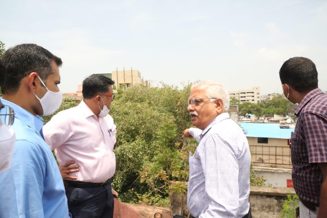 नई बिल्डिंग में डॉक्टर-आम लोगों के लिए अलग-अलग होगी पार्किंग व्यवस्था, सुरक्षा के होंगे पुख्ता इंतजाम|भोपाल,Bhopal - Dainik Bhaskar