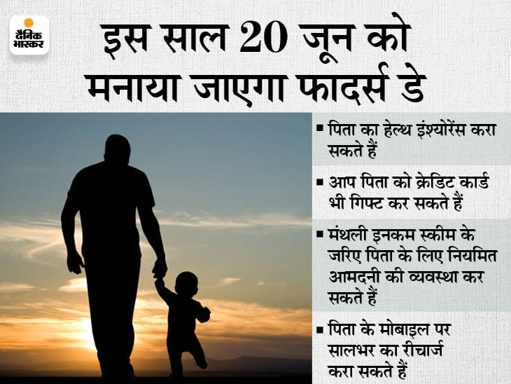 कोरोना काल में अपने पिता को दें वित्तीय सुरक्षा का उपहार, उनके लिए मंथली इनकम स्कीम में करें निवेश या कराएं हेल्थ इंश्योरेंस|बिजनेस,Business - Dainik Bhaskar