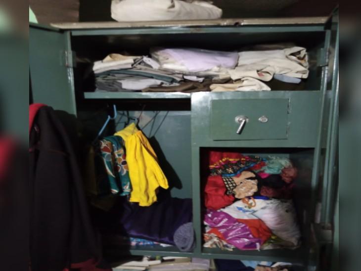 गांव से लौटा MR का परिवार तो खुली पड़ी थी तिजोरी, चोरी हो चुके थे पुश्तैनी गहने, नकदी ग्वालियर,Gwalior - Dainik Bhaskar