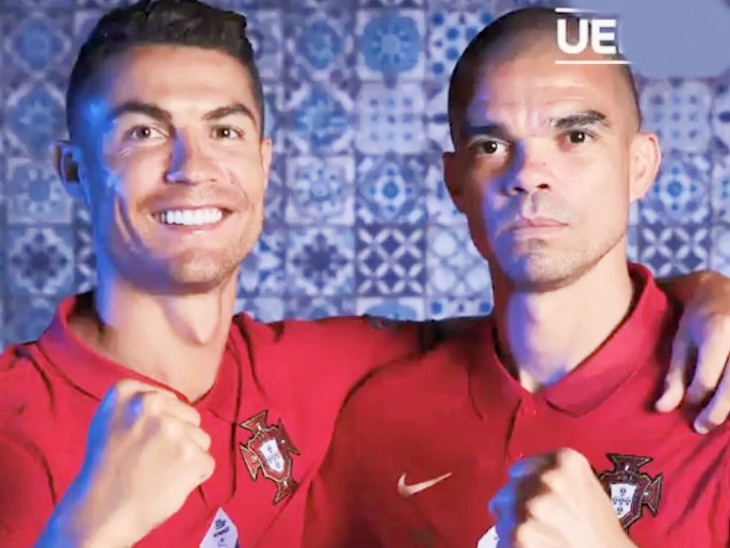 यूरो कप के दौरान पेपे की फोटो खींचते नजर आए पुर्तगाली कप्तान, कैमरामैन को चिढ़ाते हुए कहा- मैं तुमसे बेहतर हूं; देखें VIDEO|स्पोर्ट्स,Sports - Dainik Bhaskar