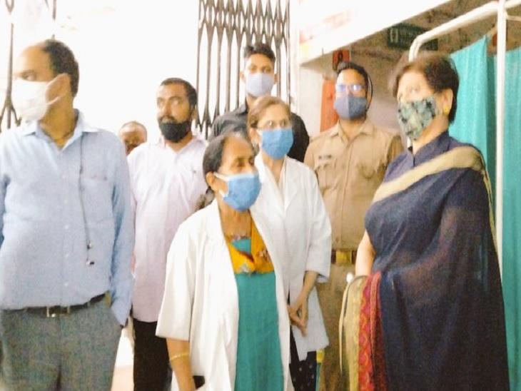 मेयर संयुक्ता भाटिया ने CHC रेडक्रॉस को लिया गोद, लखनऊ के पार्षदों से भी की अपील|लखनऊ,Lucknow - Dainik Bhaskar