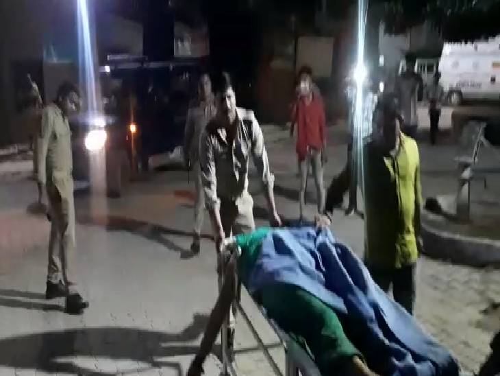 हादसे में महिला और बच्चे सहित 3 की मौत - Dainik Bhaskar