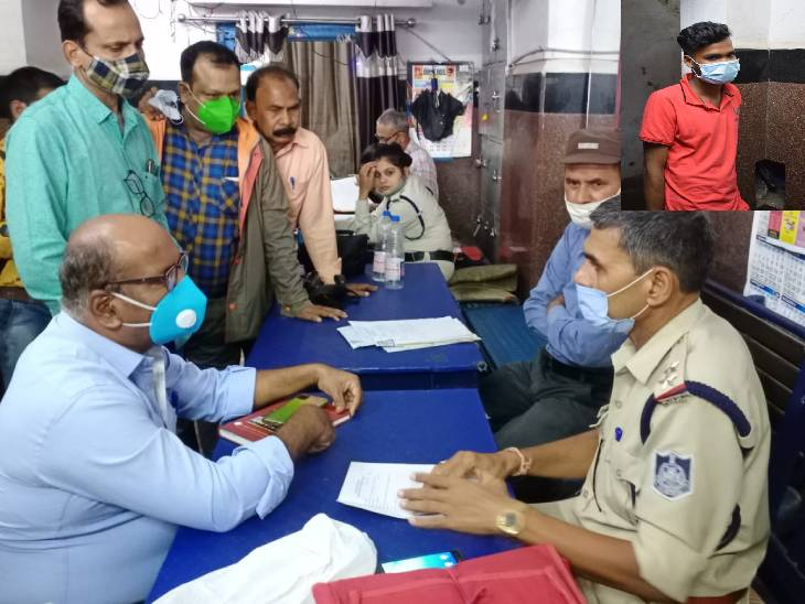 ट्रेन से बिहार भागने की कोशिश में था आरोपी, मुंबई पुलिस के इनपुट पर सतना GRP ने पकड़ा रीवा,Rewa - Dainik Bhaskar