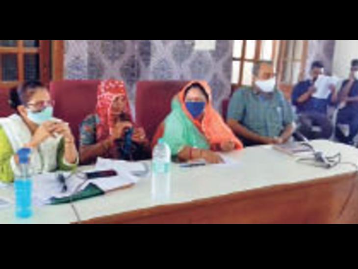 पंचायत समिति की साधारण सभा में ग्राम पंचायत विकास योजनाओं का अनुमोदन हुआ। - Dainik Bhaskar