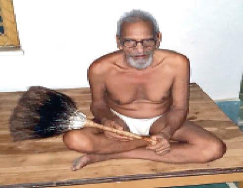 जैन संत सूर्य दत्त सागर महाराज। - Dainik Bhaskar