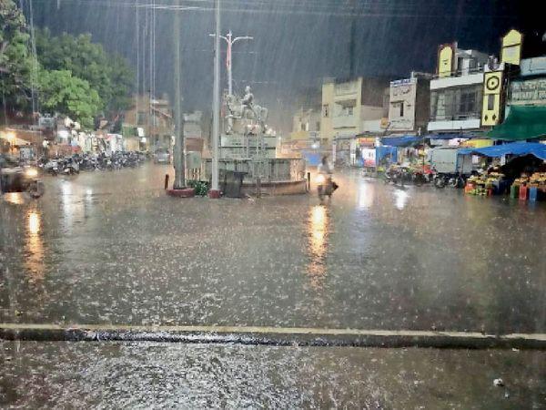 इंदौर में समय से 2 दिन पहले मानसून घोषित, 23 से बारिश जोर पकड़ेगी|इंदौर,Indore - Dainik Bhaskar