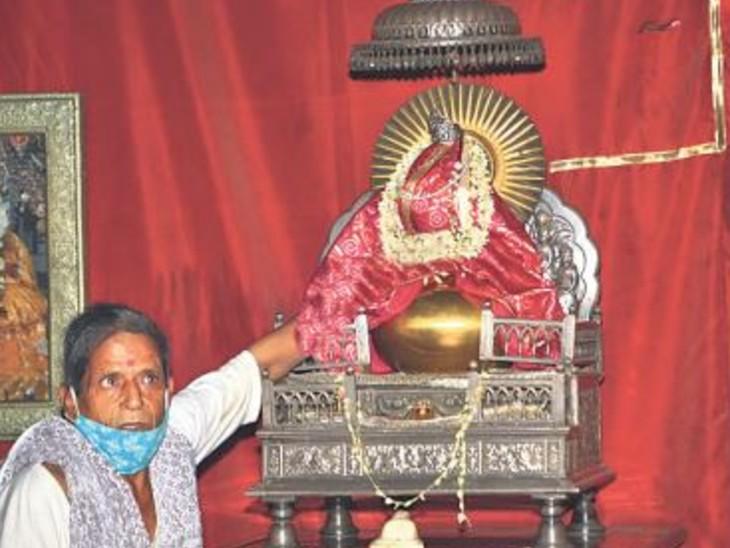107 साल से 1.5 किलो के स्वर्ण कलश में रखा है गंगाजल, 11 साल में कलश की सुरक्षा पर ही 5.73 करोड़ रुपए खर्च|जयपुर,Jaipur - Dainik Bhaskar