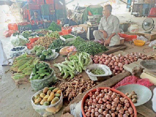 एक्सप्रेस-वे के नीचे बनेंगे सब्जी कारोबारियों के लिए चबूतरे, हादसे का खतरा भी नहीं रहेगा रायपुर,Raipur - Dainik Bhaskar