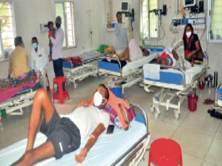 फेफड़े-कोरोनरी आर्टरी में खून का थक्का जमने से 20 दिन में 15 की मौत, कोविड निगेटिव आने के बाद रोज रिम्स आ रहे करीब 45 मरीज|रांची,Ranchi - Dainik Bhaskar