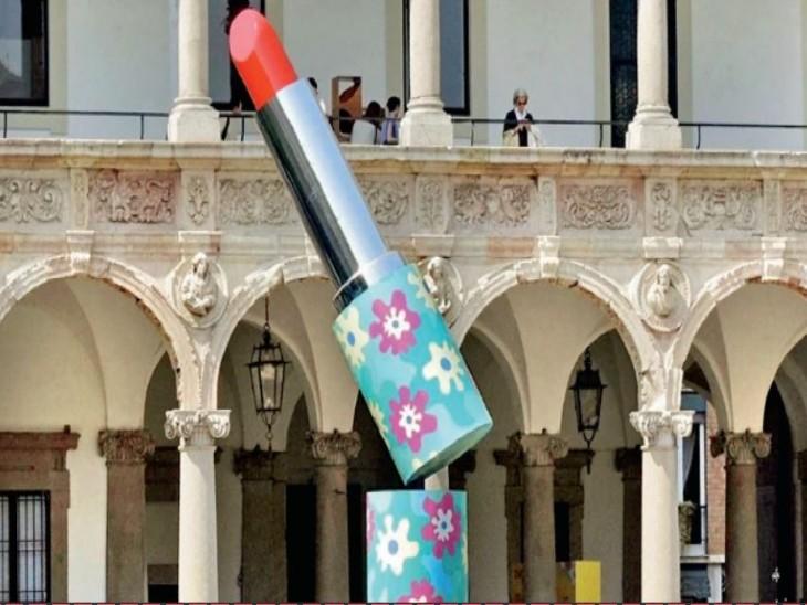इटली की लिपस्टिक वैली की रंगत फिर सुर्ख होने लगी, महामारी की मंदी के बाद सौंदर्य प्रसाधनों की बिक्री पटरी पर आने लगी|विदेश,International - Dainik Bhaskar