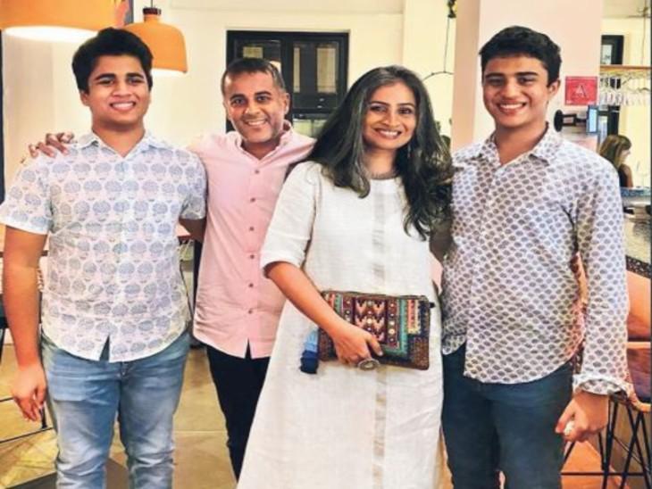 चेतन भगत के नजरिए में पिता; मेरे लिए सबसे बड़ी खुशी बच्चों को बढ़ते देखना नहीं, उन्हें 'बड़ा' करने में है|देश,National - Dainik Bhaskar
