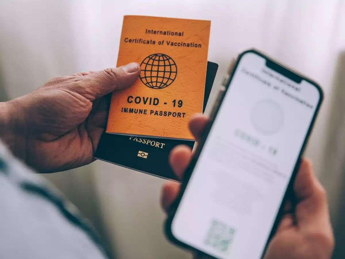 अमेरिका में वैक्सीन पासपोर्ट का विरोध शुरू हुआ, लोगों को संदेह है कि उनकी निजी जानकारी लीक हो सकती है|विदेश,International - Dainik Bhaskar