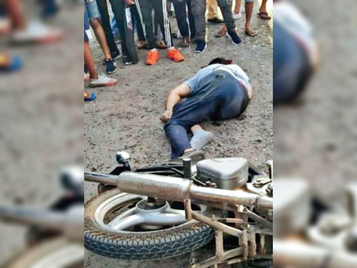 जेल से पैराेल पर आए पूर्व कांग्रेसी पार्षद सुखमीत डिप्टी की कार सवारों ने 13 गाेलियां मारकर की हत्या|जालंधर,Jalandhar - Dainik Bhaskar