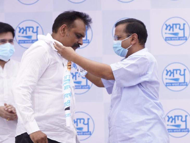अमृतसर पहुंचे केजरीवाल ने कहा- हमारी पार्टी जीती तो राज्य में सिख ही मुख्यमंत्री बनेगा, हम कांग्रेस नेता सिद्धू का सम्मान करते हैं|पंजाब,Punjab - Dainik Bhaskar