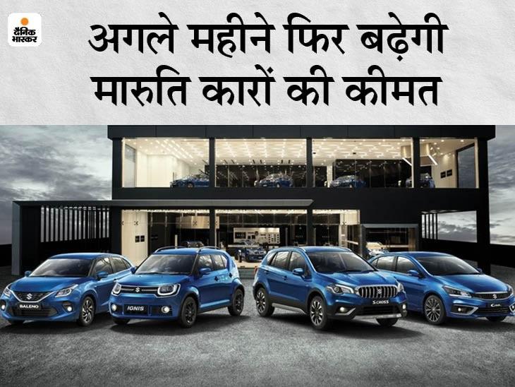 6 महीने में तीसरी बार बढ़ेंगी कीमतें, तीन महीने पहले अलग-अलग मॉडल पर 34 हजार रुपए की हुई थी बढ़ोतरी|टेक & ऑटो,Tech & Auto - Dainik Bhaskar
