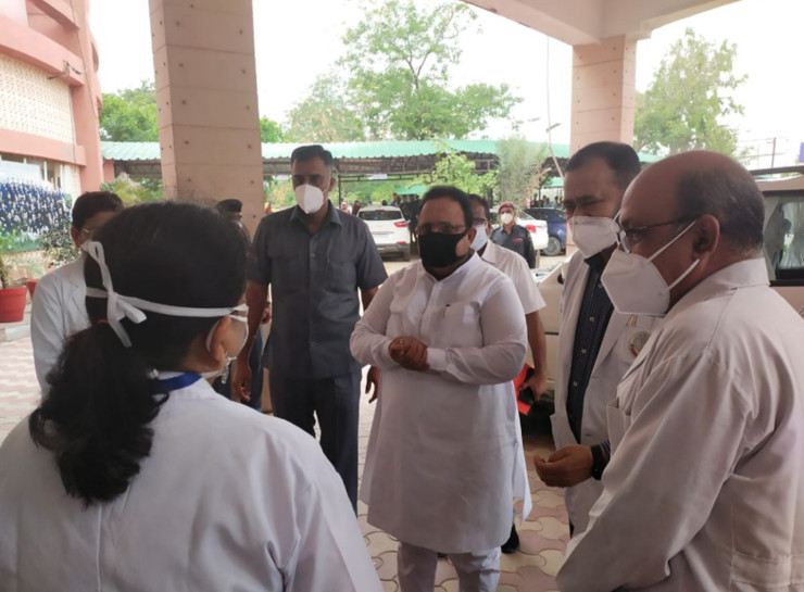 जयपुर में बच्चों के अस्पताल जेके लोन को 200 ICU बेड मिलेंगे, जरूरत पड़ने पर 600 जनरल बेड को ICU में बदला जाएगा|जयपुर,Jaipur - Dainik Bhaskar