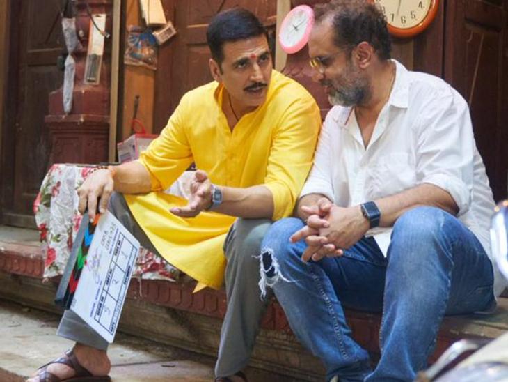 अक्षय कुमार ने अपनी बहन अलका को डेडिकेट की 'रक्षा बंधन', सेट से फोटो शेयर कर बताया-आज से शुरू हुई फिल्म की शूटिंग बॉलीवुड,Bollywood - Dainik Bhaskar